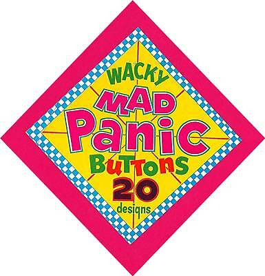 Old Wacky Mad Panic Buttons Toy Vending Machine Sign