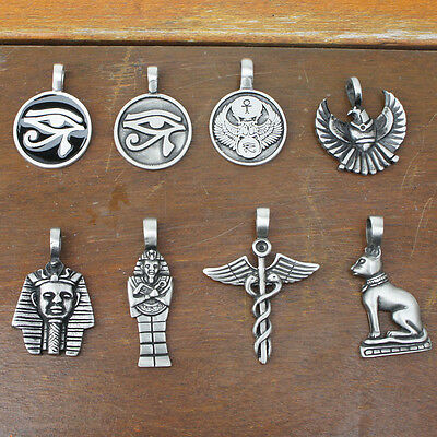 Choices Egypt Egyptian GOD Horus Ra Eye of Pagan Wicca Illuminati Pewter Pendant
