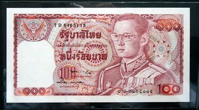 Thailand Banknote 100 Baht Series12 P#89 SIGN#57
