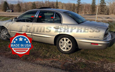 6PC Stainless Steel Pillar Post Trim PP37581 For BUICK PARK AVENUE 1997-2005