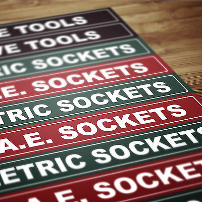 Magnetic Tool Chest Labels For High Dollar Steel Tool Boxes Tool Chest Cabinets