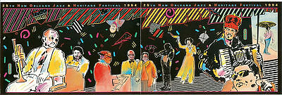 1994   New Orleans Jazz Festival Poster Card
