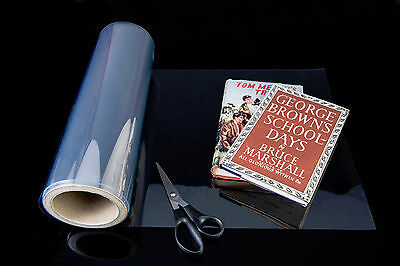 Archival Book jacket covering for all dustwrappers