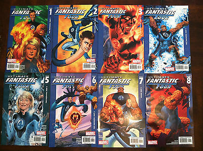 Ultimate Fantastic Four lot of 45 issues with #1-9