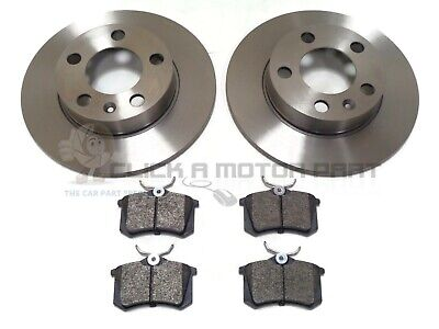 Vw Golf Mk4 Gt Tdi 110 115 130 1998-2004 Rear 2 Brake Discs & Pads Set New