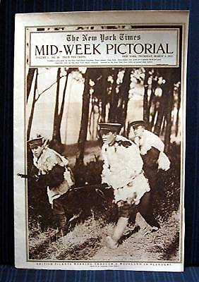 1915 NY Times 03-04 Mid Week War Pictorial WWI Magazine