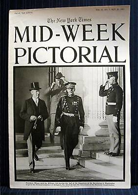 1915 NY Times 10-21 Mid Week War Pictorial WWI Magazine