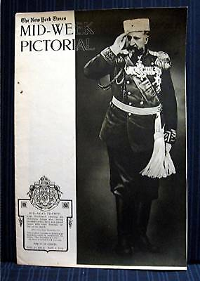 1915 NY Times 11-04 Mid Week War Pictorial WWI Magazine