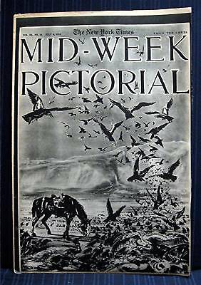 1916 NY Times 07-06 Mid Week War Pictorial WWI Magazine