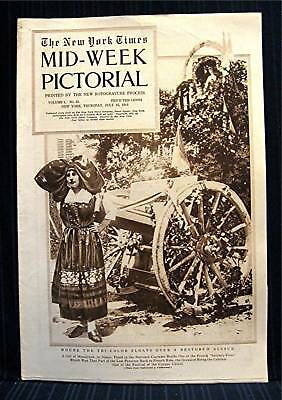 1915 NY Times 07-15 Mid Week War Pictorial WWI Magazine