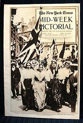 1915 NY Times 06-24 Mid Week War Pictorial WWI Magazine
