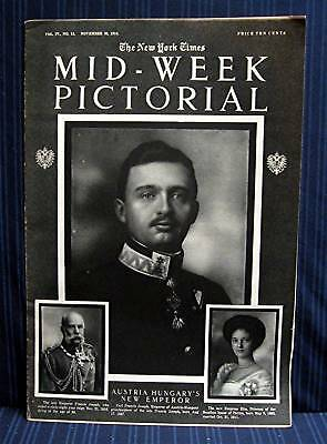 1916 NY Times 11-30 Mid Week War Pictorial WWI Magazine
