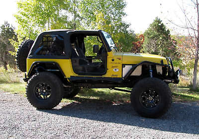 1997-2006 Jeep Wrangler Frameless Soft Top with Door Surround & Channel Hardware