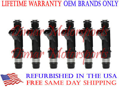 3 Year Warranty - 3.4L 3.1L Flow Matched Injector Set (6) 25323971