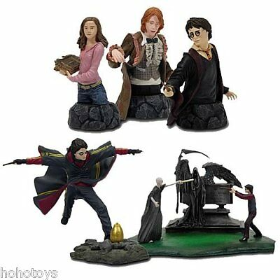 Harry Potter Bust Ups Series 1 Set of 5 by Gentle Giant FREE SHIPPING WORLDWIDE