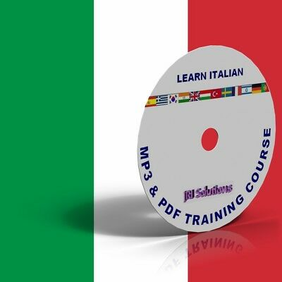 Learn To Speak fluent Italian Language Course DVD, MP3 & PDF, language of Italy