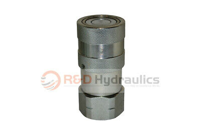 "3/4"" SAE Skid Steer/Bobcat Hydraulic Quick Coupler Only"