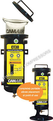 Devilbiss Camair CT30 Portable Point of Use Desiccant Compressed Air Dryer - NEW