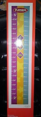 Childrens Playskool 5' Wooden Height Chart (Measuring Device)