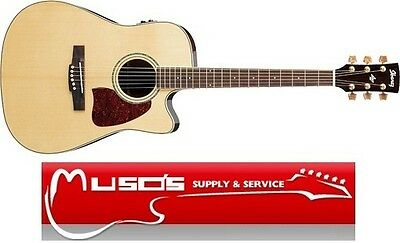 Ibanez AW800ECE NT All Solid Acoustic/Electric $895