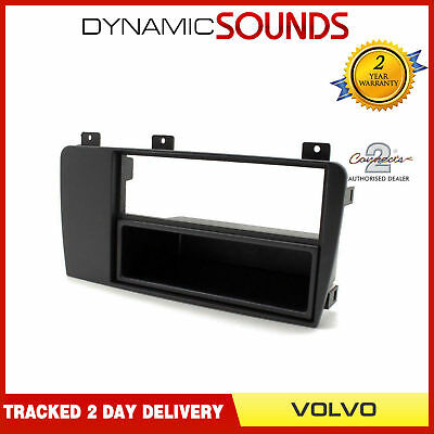 FP-006 SAAB 93 95 POCKET BLACK FACIA FASCIA PANEL SURROUND TRIM CD RADIO STEREO