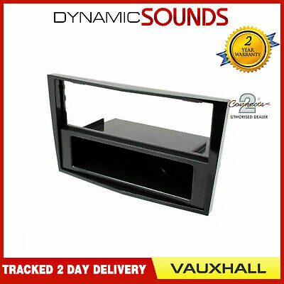 CT24VX15 Piano Black Fascia Panel Adaptor For Vauxhall Opel Corsa 2006-2014