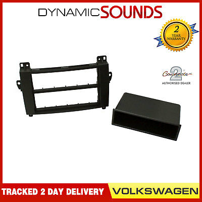 CT24VW10 Single Din Stereo Fascia Facia Trim Panel Adaptor For VW Crafter 2006>