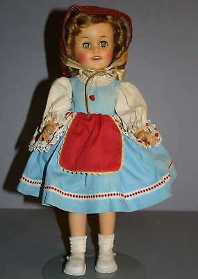 VINTAGE  SHIRLEY   TEMPLE   DOLL  by  IDEAL  ca:1950'S