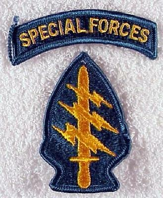 Army Patch: Special Forces w/tab