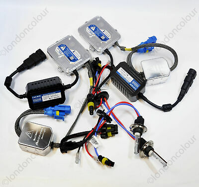BMW E46 3 SERIES HID Xenon Conversion CANBUS Kit Slim Ballast H7 35W Bulbs