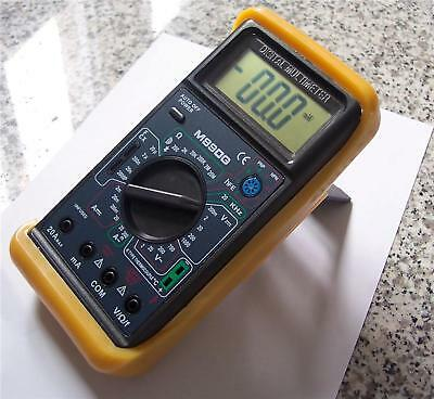 AC/DC Ammeter Digital Multimeter DMM Capacitor Tester+Type K Thermocoule HVAC