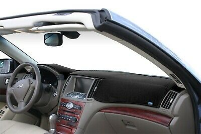 Chrysler Crossfire 2004-2008 Sedona Suede Dash Board Cover Mat Black