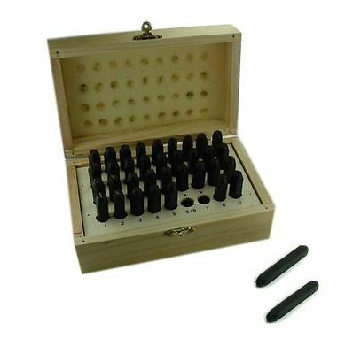 Mazbot 6mm Letter Number Steel Metal Stamping Punch Set