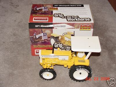Ertl 1/16 Minneapolis-Moline G750 Se Firestone  29462P