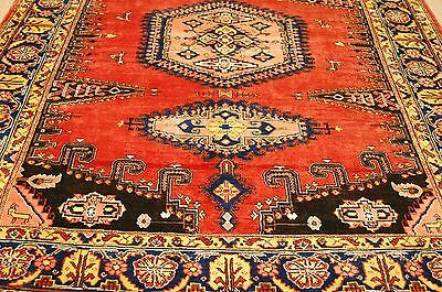 c1930s ANTIQUE TRUE BEAUTY MINT NORTHWEST PERSIA VEES RUG 7.6x10.2 ROOM SIZE