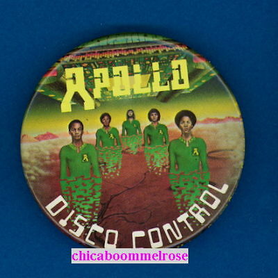Apollo 1979 official MOTOWN pinback button badge ee