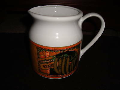 "Mann China 5 1/4"" Pitcher ""String Beans"" Ceramic"