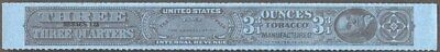 Tobacco Strips Taxpaid Stamp Springer #TG1033a