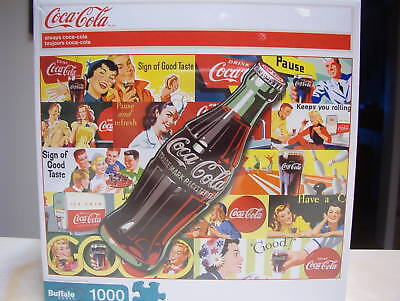 Always Coca Cola 1000 Piece Puzzle  Nib-Sealed
