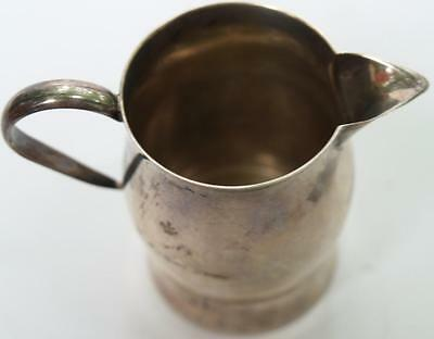 Us Sterling Silver Caldwell Prevere Milk Creamer Cup Usa Art Collector Vintage