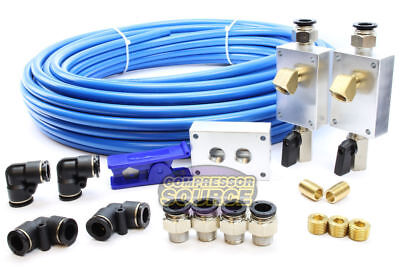 "Rapid Air Garage / Shop Compressed Air Line Kit Complete System 100 ft. 1/2"" New"