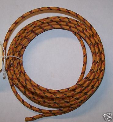 Cloth Covered Primary Wire  12 gauge