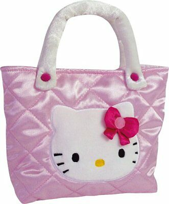 HELLO KITTY TASCHE SATIN 20 x 24 cm NEU