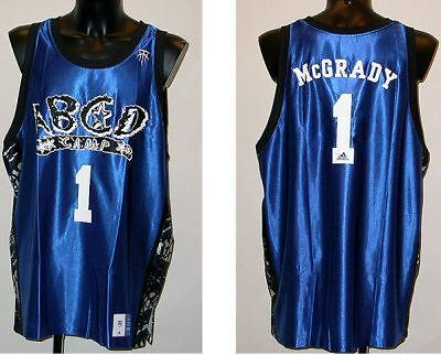 Orig. ADIDAS TMAC McGRADY BASKETBALL SHIRT blau, NEU