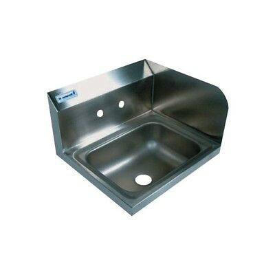Wall Mount Hand Sink with One Right Sided Splash Guard