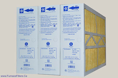 M1-1056 Genuine MERV 11 Replacement Filters. Case of 3