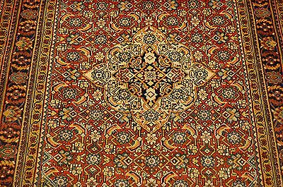 c1930s ANTIQUE HIGHLY DETAILED FINE PERSIAN SAROUK RUG 3.9x5.9 HIGH KPSI BEAUTY