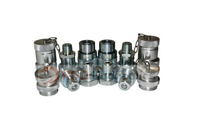 4pk 10,000psi Hydraulic Quick Coupler Set (for Enerpac)
