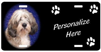Petit Basset Griffon Vendeen  Personalized license