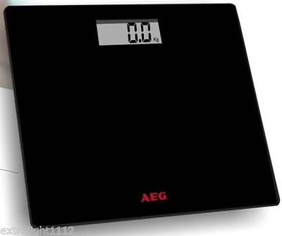 Electronic Digital Bathroom Body Weight Management Scales Black/White